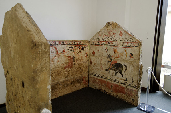 Another tomb, Paestum Museum Italy