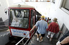 The funicular (the inclined train, not the song), Isle of Capri
