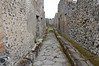 Path, note stepping stones, Pompeii