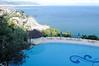 View from the pool, Hotel Raito, Vietri sul Mare, Italy