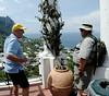 Fred and Tom, Isle of Capri