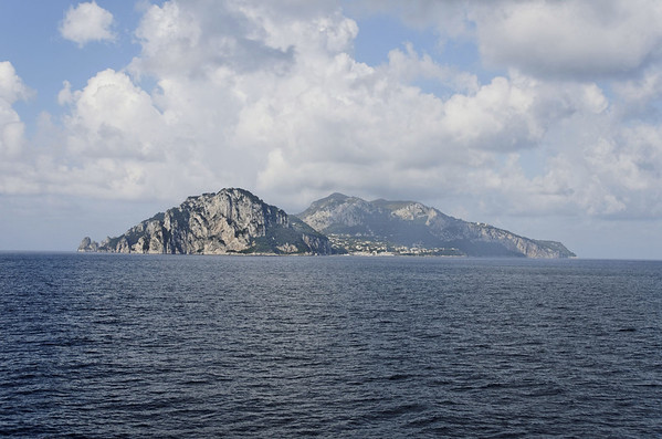 DAY 2 (AHI Schedule):  Isle of Capri from TTT Lines ferry, Catania to Naples