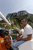 Bill, boat captain, and Enzo, Isle of Capri