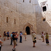 Andria, Castle del Monte, courtyard