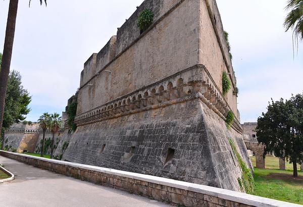 Bari, walled area