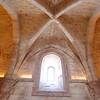 Andria, Castle del Monte, ceiling detail