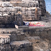 Polignano a Mare, secluded rock
