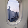 Chicago to Houston on Boeing 787 Dreamliner, large windows with LCD dimmer