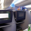 Chicago to Houston on Boeing 787 Dreamliner, large screen entertainment system