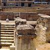Lecce, Piazza Saint'Oronzo, Roman amphitheater, panorama