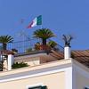 Trani, rooftop apartment garden overlooking marina