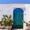 Ostuni, door to apartment with great view of Adriatic Sea and olive groves