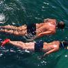 Polignano a Mare, snorklers