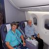 Chicago to Houston on Boeing 787 Dreamliner, happiness is plenty of leg room