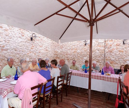 Evening excursion to Masseria del Crocifisso,goup shot 2