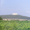 Andria, Castle del Monte, approach and forest