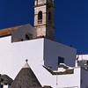 Alberobello, trulli and cathedral