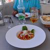 Polignano a Mare, lunch