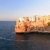 Polignano a Mare Vecchio in the afternoon sun