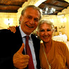 Le Querce di Mamre Agriturismo:  Father and mother visiting with us at dinner