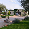 Le Querce di Mamre Agriturismo:  rooms are to the left of the central structure - small but neat, clean, and cute