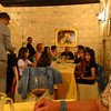 Le Querce di Mamre Agriturismo:  We were seated for dinner with other guests of the agriturismo, just part of the big Italian family