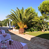 DAY 9:  Masseria del Crocifisso:  breakfast outside