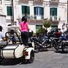 Tropea:  Moto Guzzi sidecar