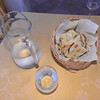 Le Querce di Mamre Agriturismo: heavenly pizza bread with olive oil, rosemary, and salt