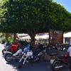 Tropea:  sleek Italian Moto Guzzi bikes