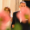 Le Querce di Mamre Agriturismo:  The bride and groom arrive