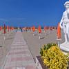Margherita di Savoia:  David overlooking Lido Sport beach park