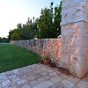 Masseria del Crocifisso, very thick stacked stone wall