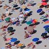 Tropea:  beachgoers