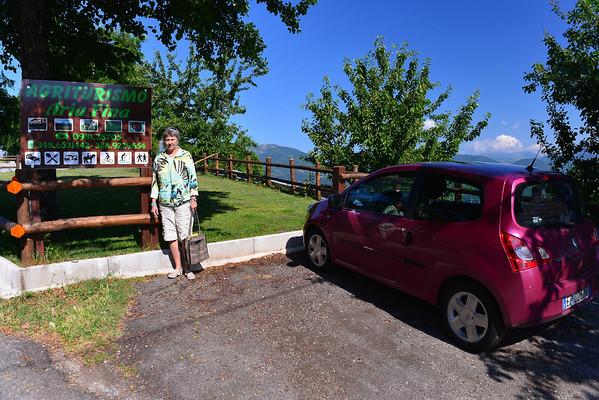 DAY 5:  Agriturismo Aria Fina, near Mormano in the Calabria region