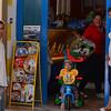 Vieste:  Italians doting on their kid