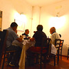 Masseria del Crocifisso: the owner's parents and other relatives joined us for dinner, a multi-hour affair