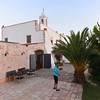 Masseria del Crocifisso: evening light