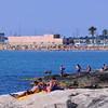 Just north of Manfredonia:  rocky beach