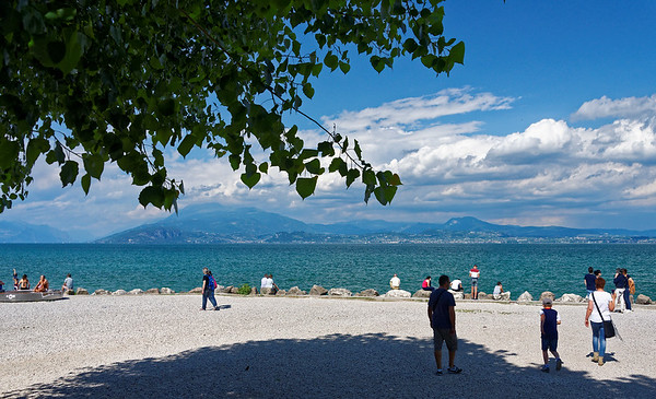 Sirmione; we did pick the perfect day