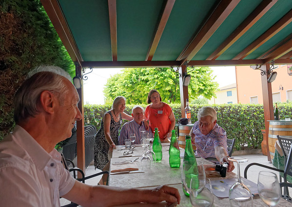 Marano di Valpolicella; Giuseppe ate with us