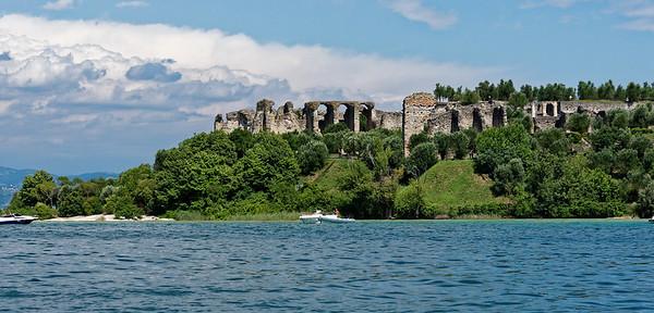 Sirmione; Roman ruins