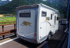 Lake Garda area; nifty looking camper