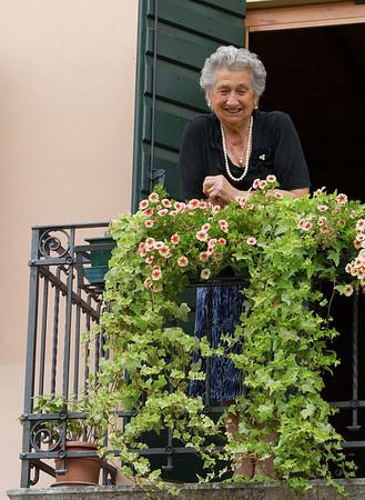 Marano di Valpolicella; Giuseppe's mother