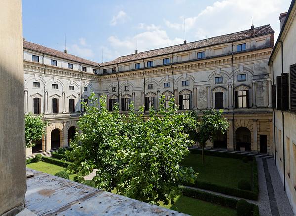 Mantua, Castle of St. George; courtyard