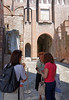 Mantua, Castle of St. George; we were a little late and this lady almost didn't let us in