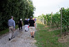 Borgo San Donino; group headed to dinner, about 1/3 mile each way