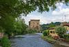 Valeggio and the Mincio river