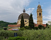 Marano di Valpolicella; old and new church