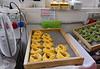Valeggio; fresh pasta from the machine